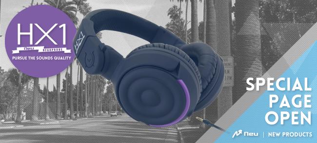 New Headphone   Neu「HX-1」