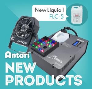 Antari 新規取扱い製品のお知らせ