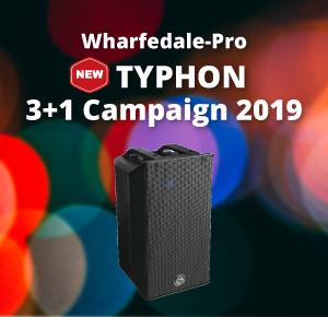 Wharfedale Pro New Typhon 3+1キャンペーン2019